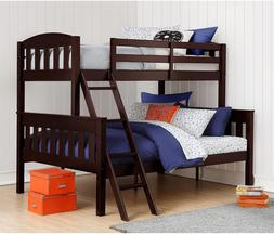 Bunk Beds Twin Over Full With Ladder Guard Rail Airlie Solid