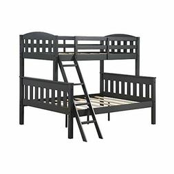 Dorel Living Airlie Solid Wood Bunk Beds Twin Over Full with