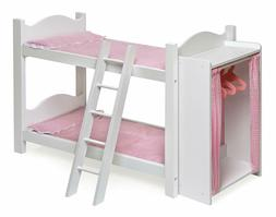 Bunk Bed For 18 Inch Dolls Badger American Girl Furniture Ma