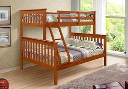 BUNK BEDS with FREE Mattress PROTECTION Twin over Full - Don