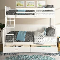 Captain's Bed frame Twin Daybed w/Trundle Bed and 6 Storage