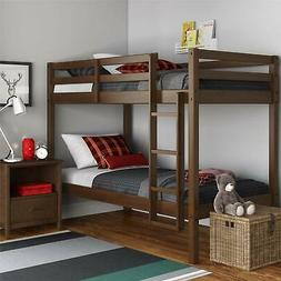 Dorel Living DA8378 Indiana Solid Wood Beds with Ladder and