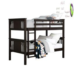 Dorel Living Dylan Kids Bunk Beds, With Guard Rail And Ladde