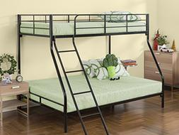 Zinus Hani Easy Assembly Quick Lock Metal Bunk Bed / Quick T