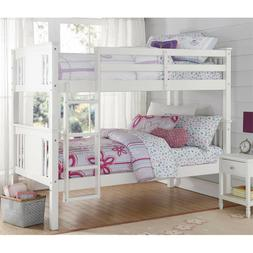Better Homes and Gardens Flynn Twin Kids Room Bunk Bed Over