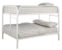 Fordham Collection Full-over-Full Bunk Bed with Built-in Lad
