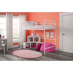 Better Homes and Gardens Kelsey Twin Metal Loft Bed, Multipl