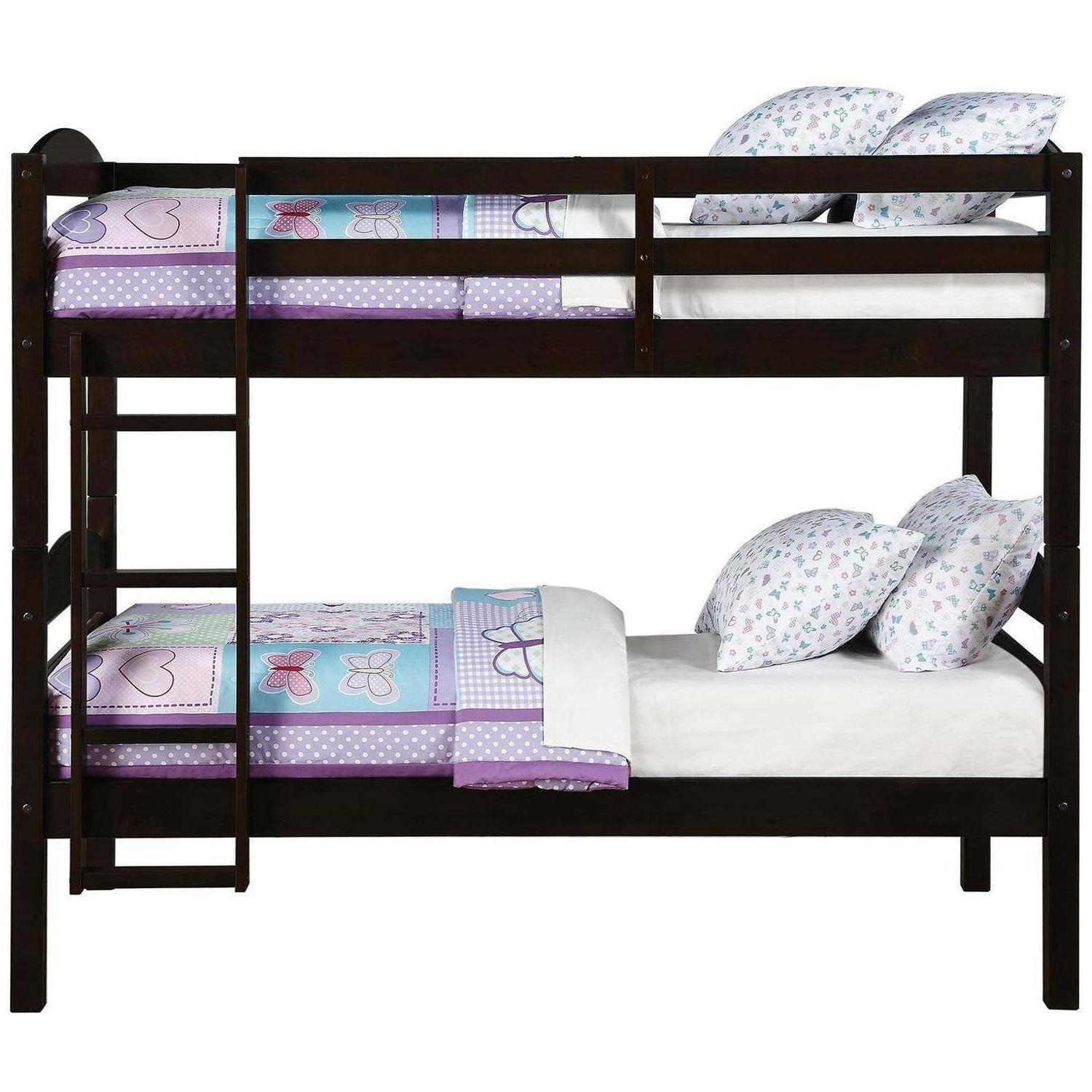 Bunk Beds For Twin Twin Wood Bunked Frame Bedroom