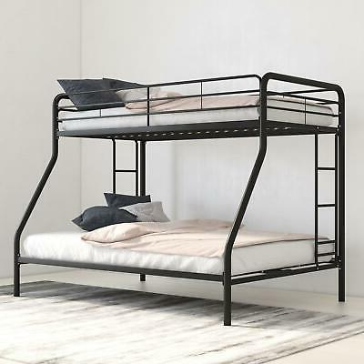 Bunk Beds Twin over Full Kids Girls Boys Bed Teens Dorm Bedr