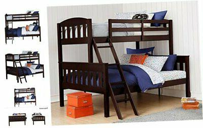airlie solid wood bunk beds twin over