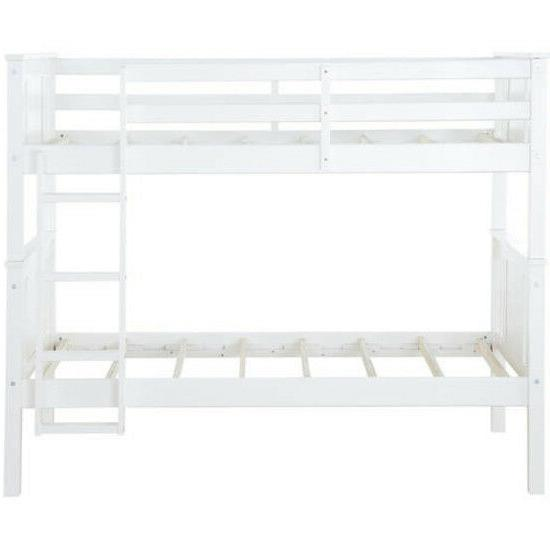 Better Homes and Gardens Flynn Kids Room Bunk Bed Over Leighton