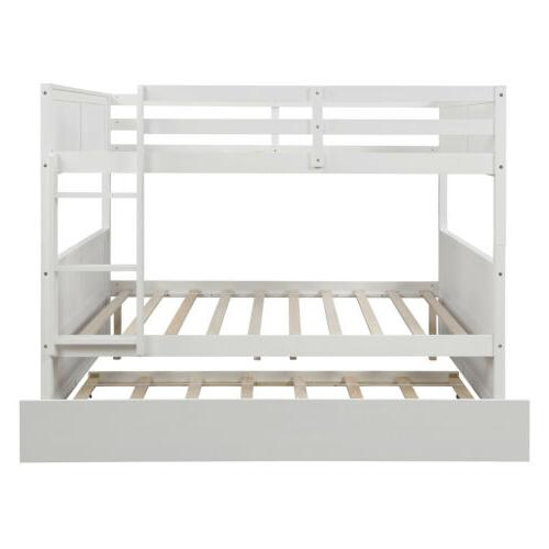 Full Bunk Bed W/Trundle,