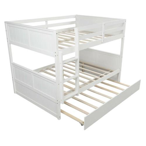 Full Over Bunk Bed Beds W/Ladder