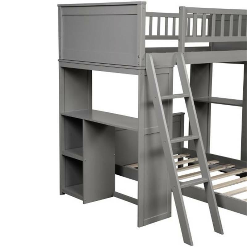 Gray Bunk Bed NEW