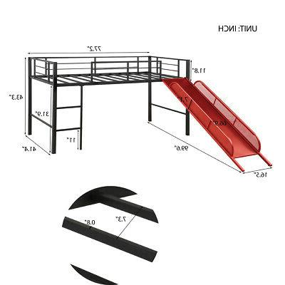 Kids Twin Bed Child Furniture Area