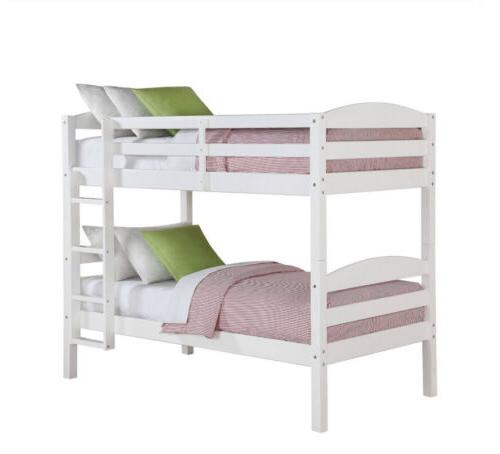 Better Homes Leighton Wood Twin-Over-Twin Bed,