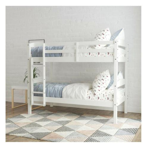 Better Homes & Leighton Wood Bed, Gray