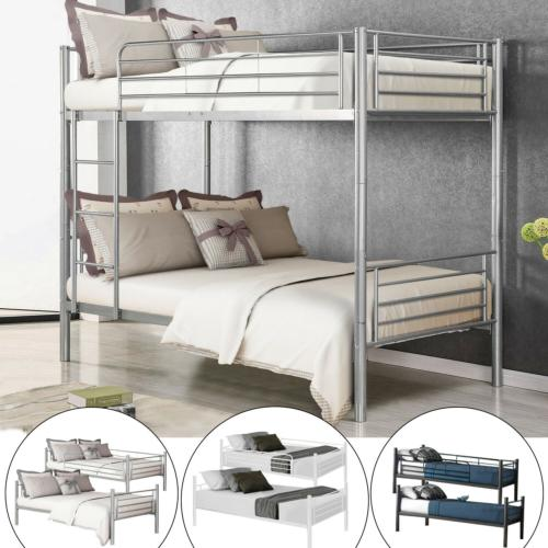 metal bunk beds frame twin over twin