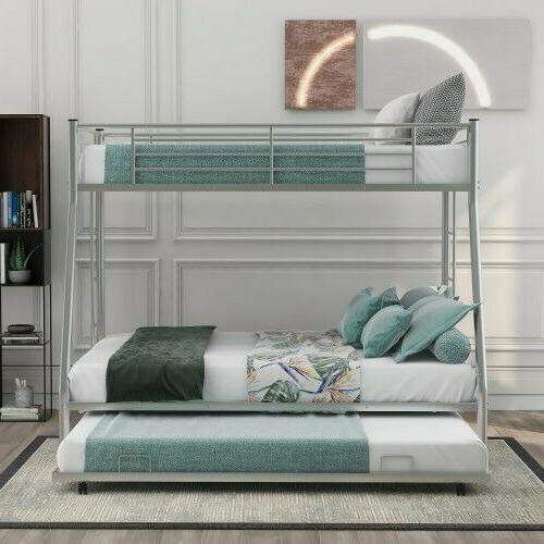 metal bunk beds twin over full beds