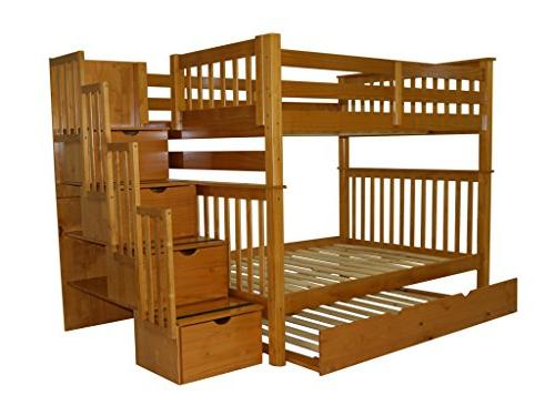 Bedz King Twin Full Bed Twin Trundle