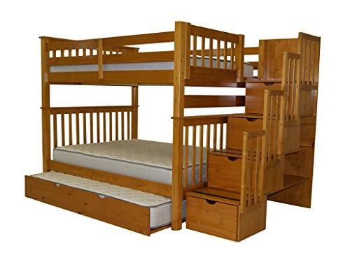 Bedz Twin Over Full Twin Trundle