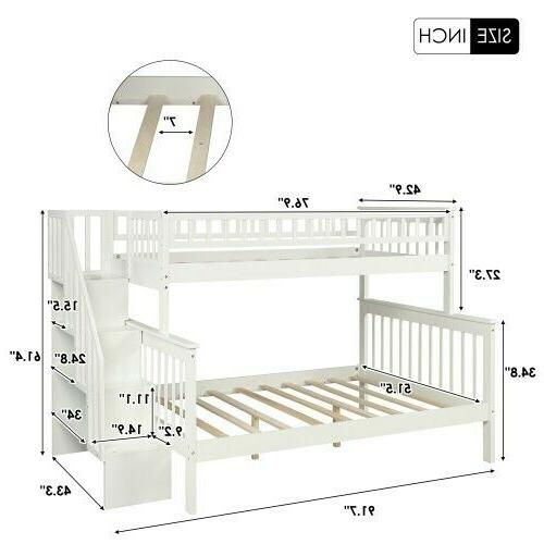 Twin bed with
