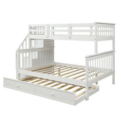 Gray Twin Bunk Twin Bed Wood Bedding Set