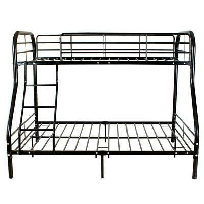 metal bunk beds frame 250lbs load twin