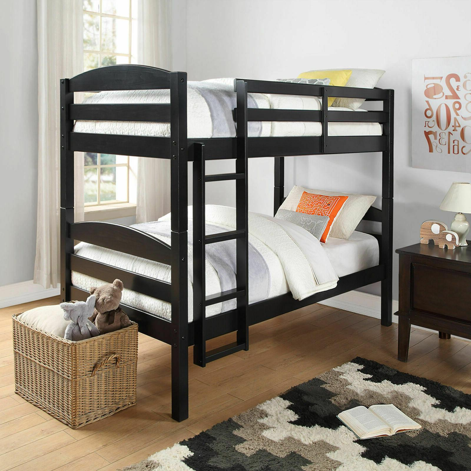 twin over twin bunk beds for kids