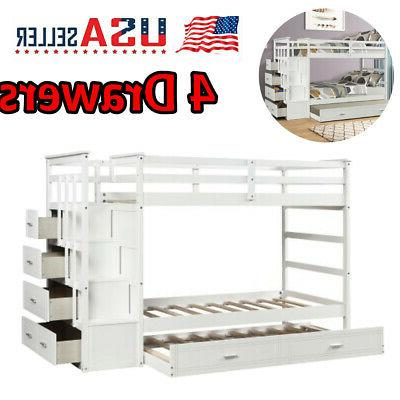 twin over twin bunk beds kid adult