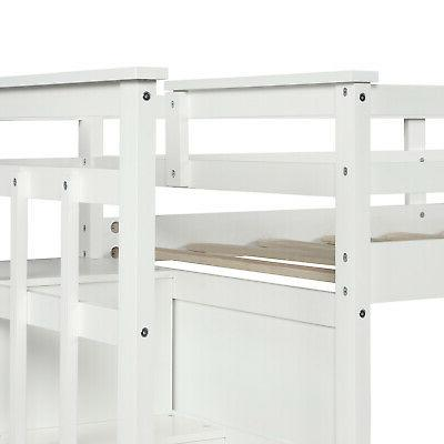 Bunk Beds Twin Twin Wood With Set