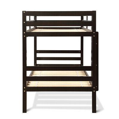 Twin Over Wood Bunk W/Ladder Bunk