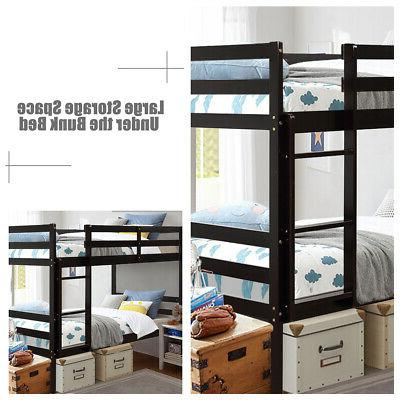 Twin Over Bunk W/Ladder Safety Bunk