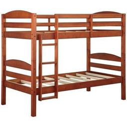 Better Homes and Gardens* Leighton Twin Over Twin Wood Bunk