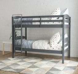 Better Homes & Gardens Leighton Wood Twin-Over-Twin Bunk Bed