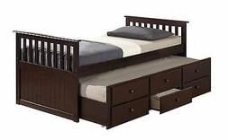 Broyhill Kids Marco Island Captain's Bed with Trundle Bed an