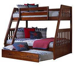 Discovery World Furniture Twin Over Twin Bunk Bed with Twin