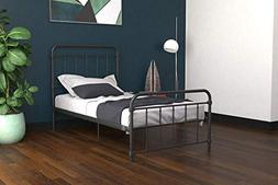 DHP Winston Metal Bed Frame, Multifunctional Piece with Adju